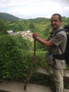 Mohamed al Hadad onderweg