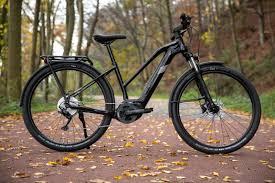 e-bike op bospad