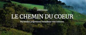 beeld van de openingspagina van de website van de Stichting