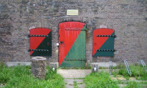 Kruitkamer fort stelling van Amsterdam