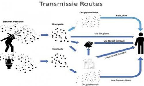 CoronaTransmissieRoutes