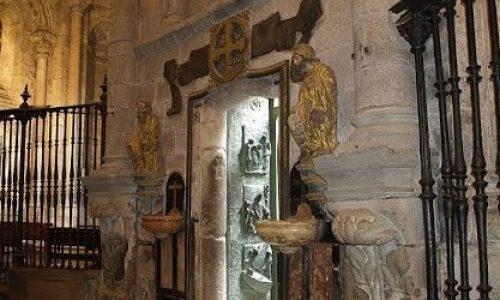 Heilige deur van de kathedraal van Santiago de Compostelle