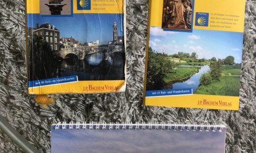 Routeboekjes Jakobsweg en Limesroute