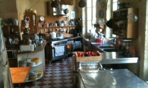 Keuken chateau Bazas