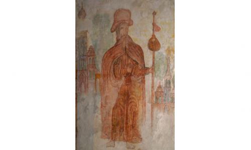 Muurschildering Jacobus Weert